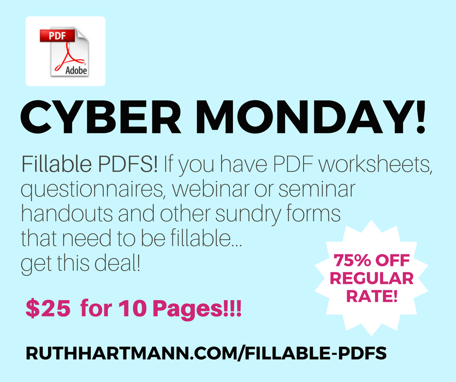I'll make your PDFs fillable! Only $25 for 10 pages!